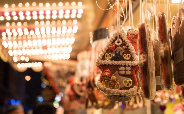 Gingerbread Christmas Decoration at Christmas Market
