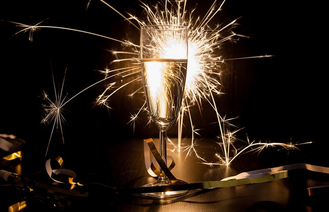 Champagne and Sparklers