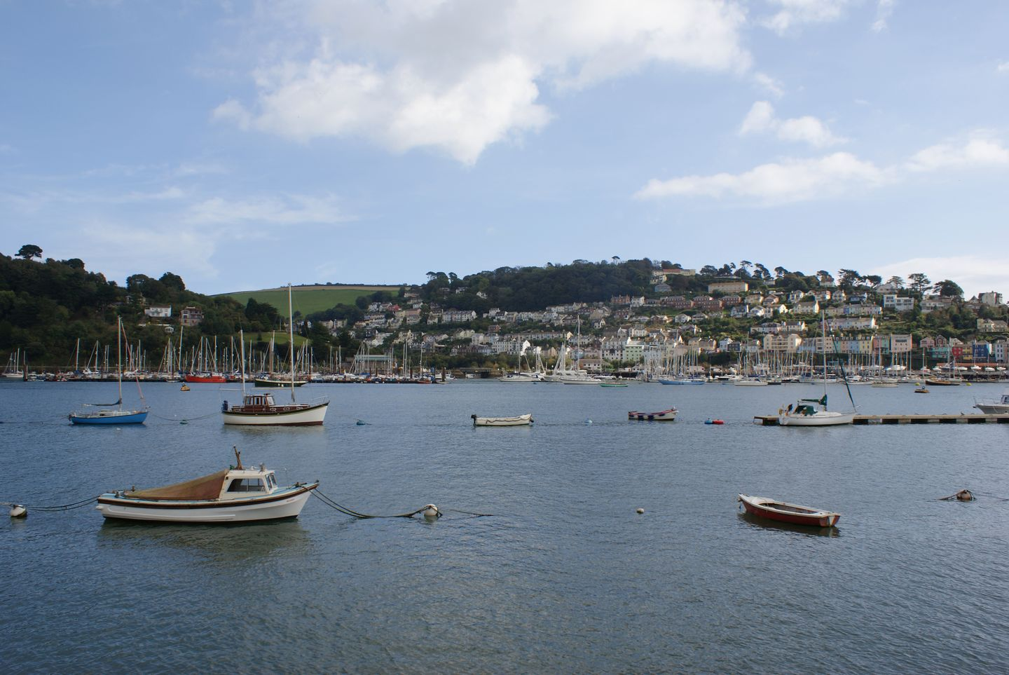 Boats on the Water in Dartmouth