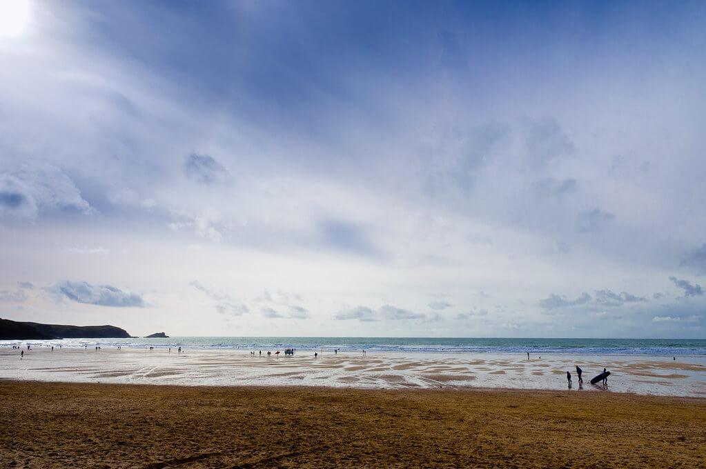 Fistral Beach Body Boarding