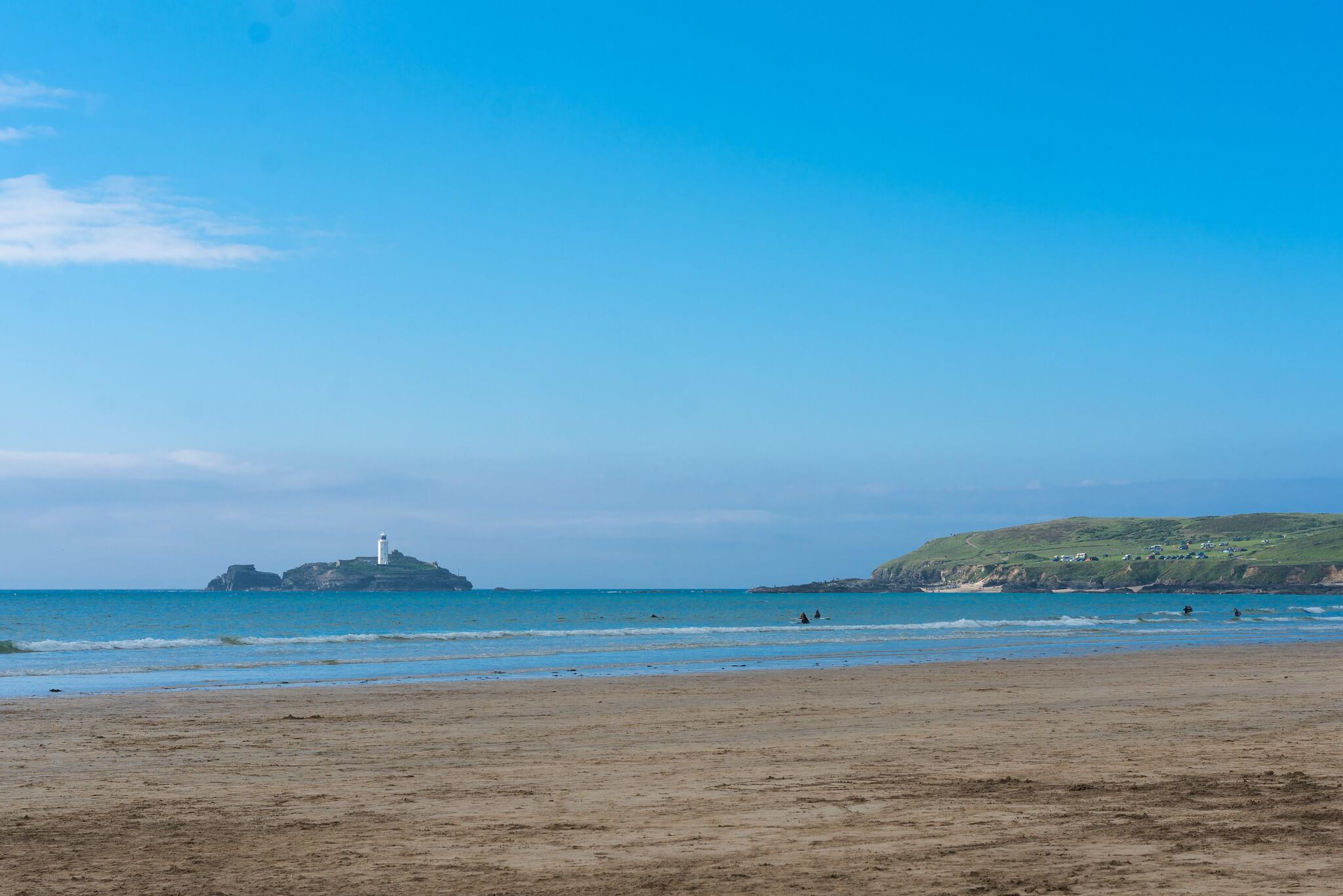 Gwithian Towans Body Boarding Beach