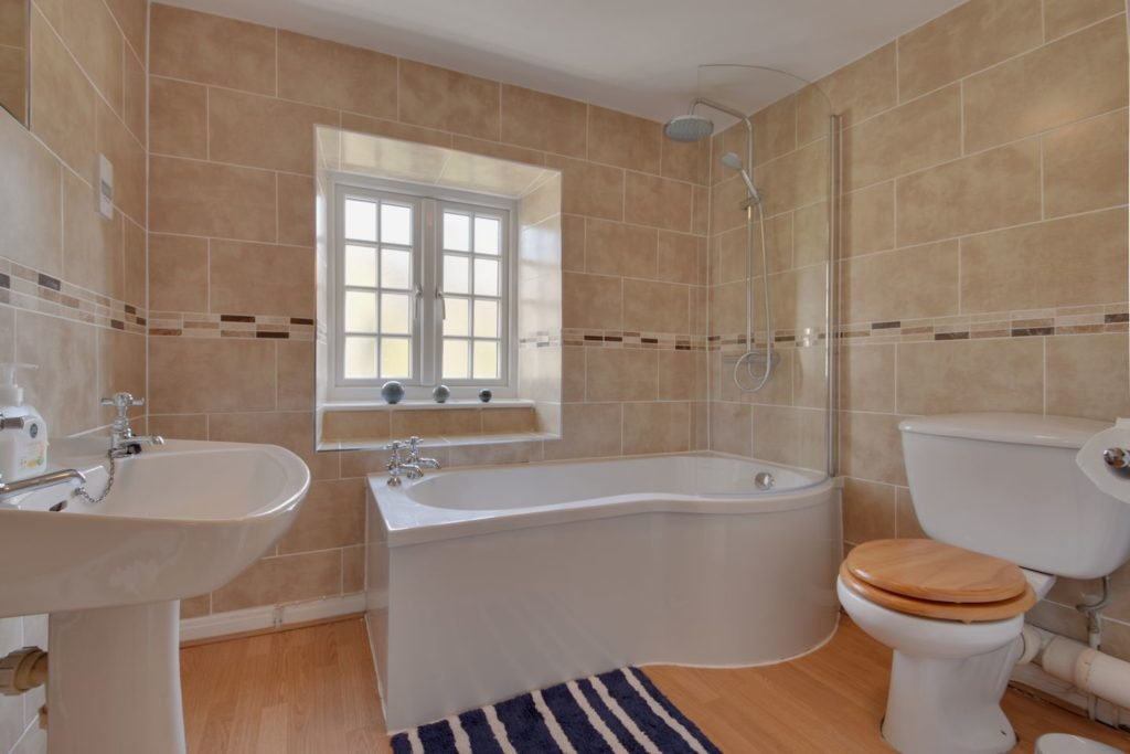 Bathroom at Molly's Cottage