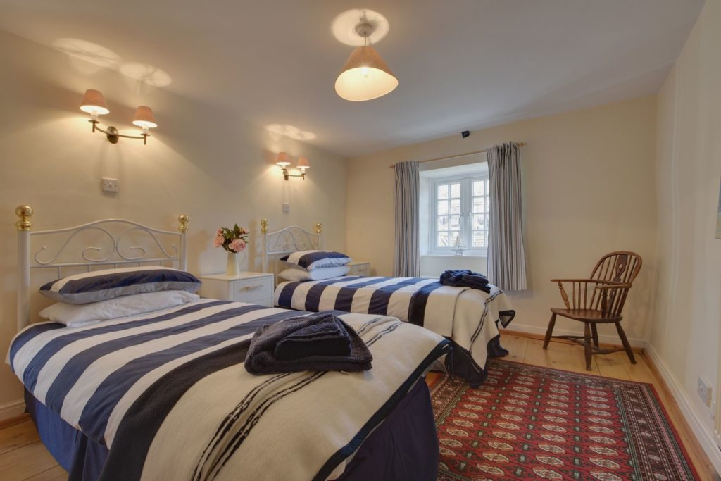 Twin Bedroom at Molly's Cottage