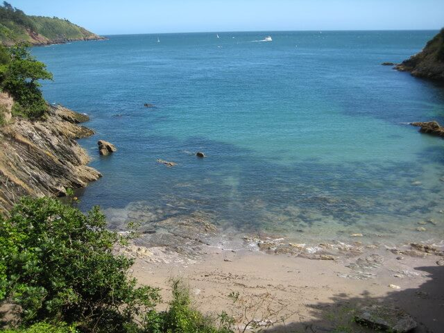 Sugary Cove Dartmouth Wild Swimming
