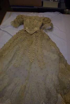 Bridport Museum Victorian Dress