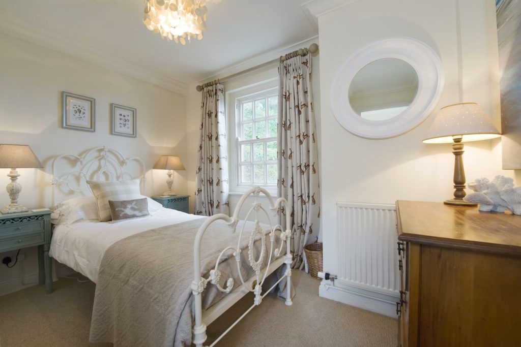 Bedroom at Coach House Cottage