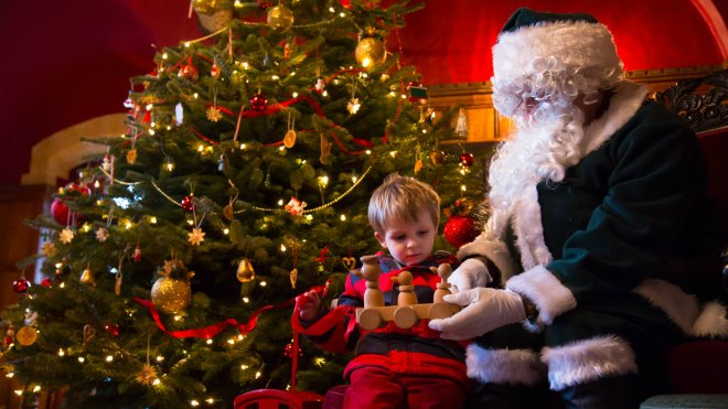 Santa's Grotto at Dunster Castle