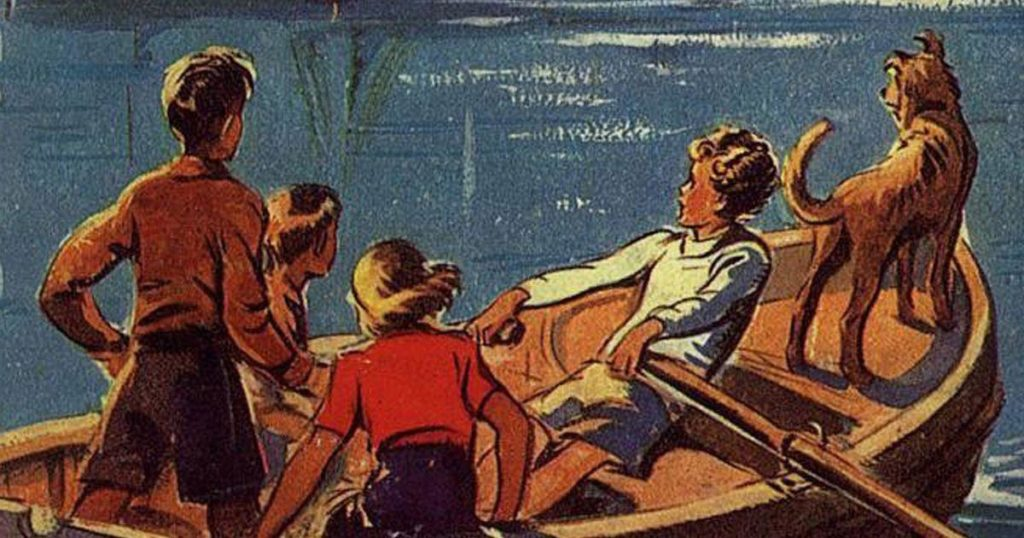 The Famous Five Illustration