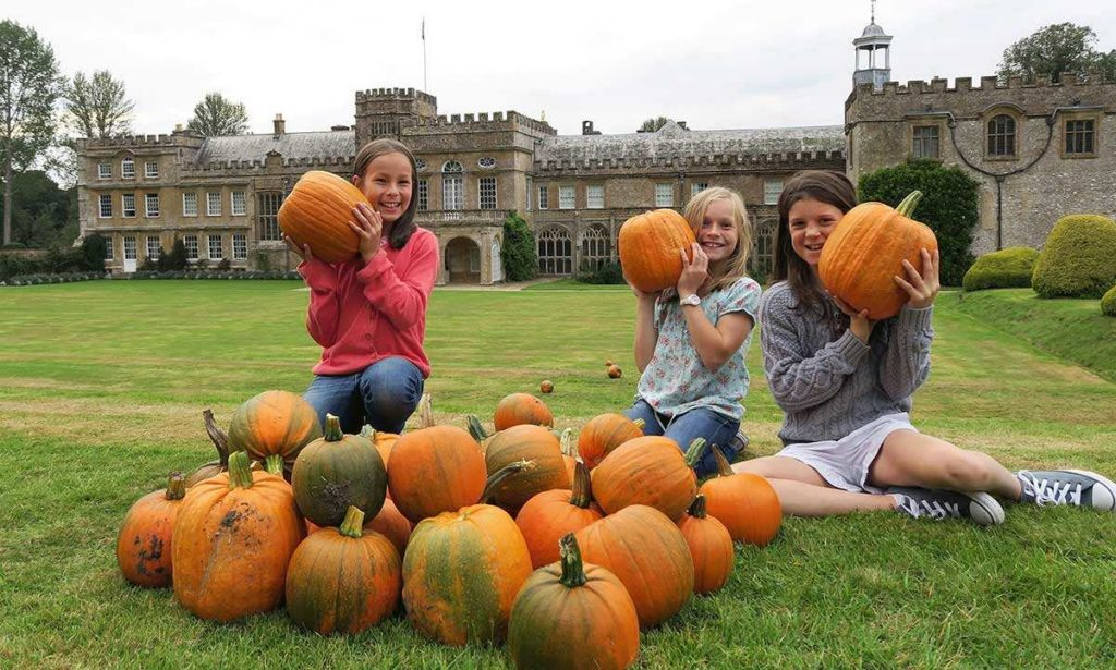 Forde Abbey at Halloween