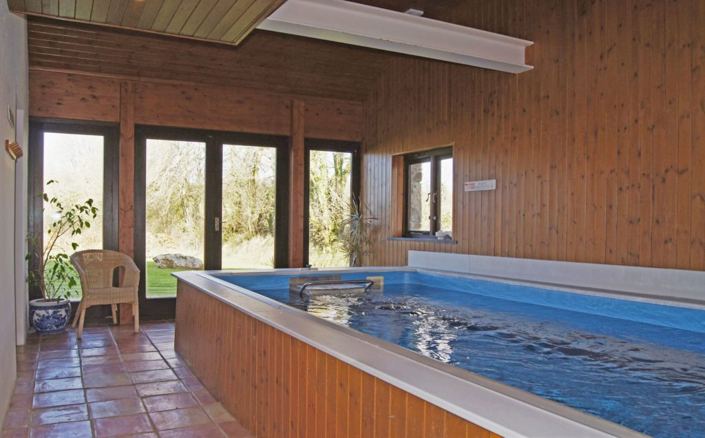 Swimming Pool in the Red Barn
