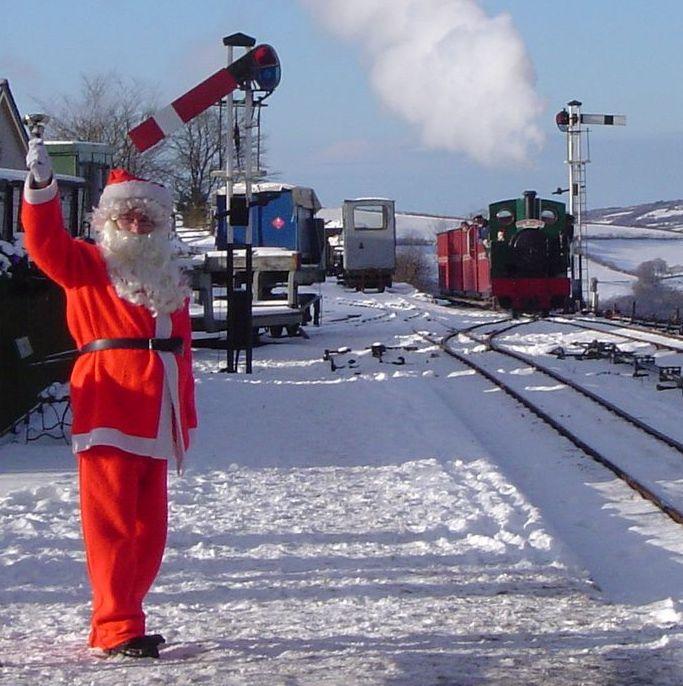 Santa at Lynton and Barnstaple Railway