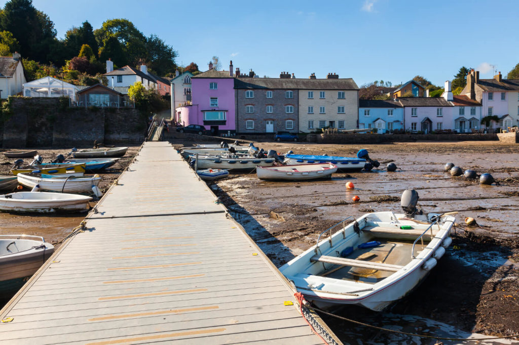 An image of Dittisham Quay and Harbour South Devon