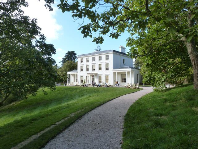 Exterior of Greenway House South Hams Devon