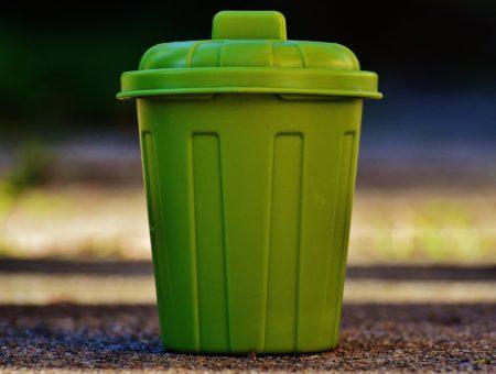 Green waste bin