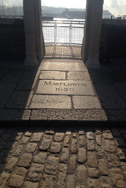 Steps the Pilgrims made on to the Mayflower in 1620