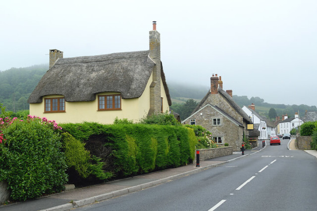 Outside view of Harbour Inn, Axmouth