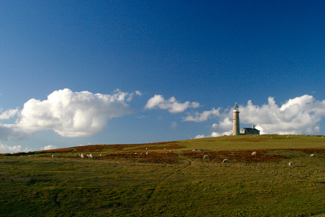 Lighhouse on Lundy island