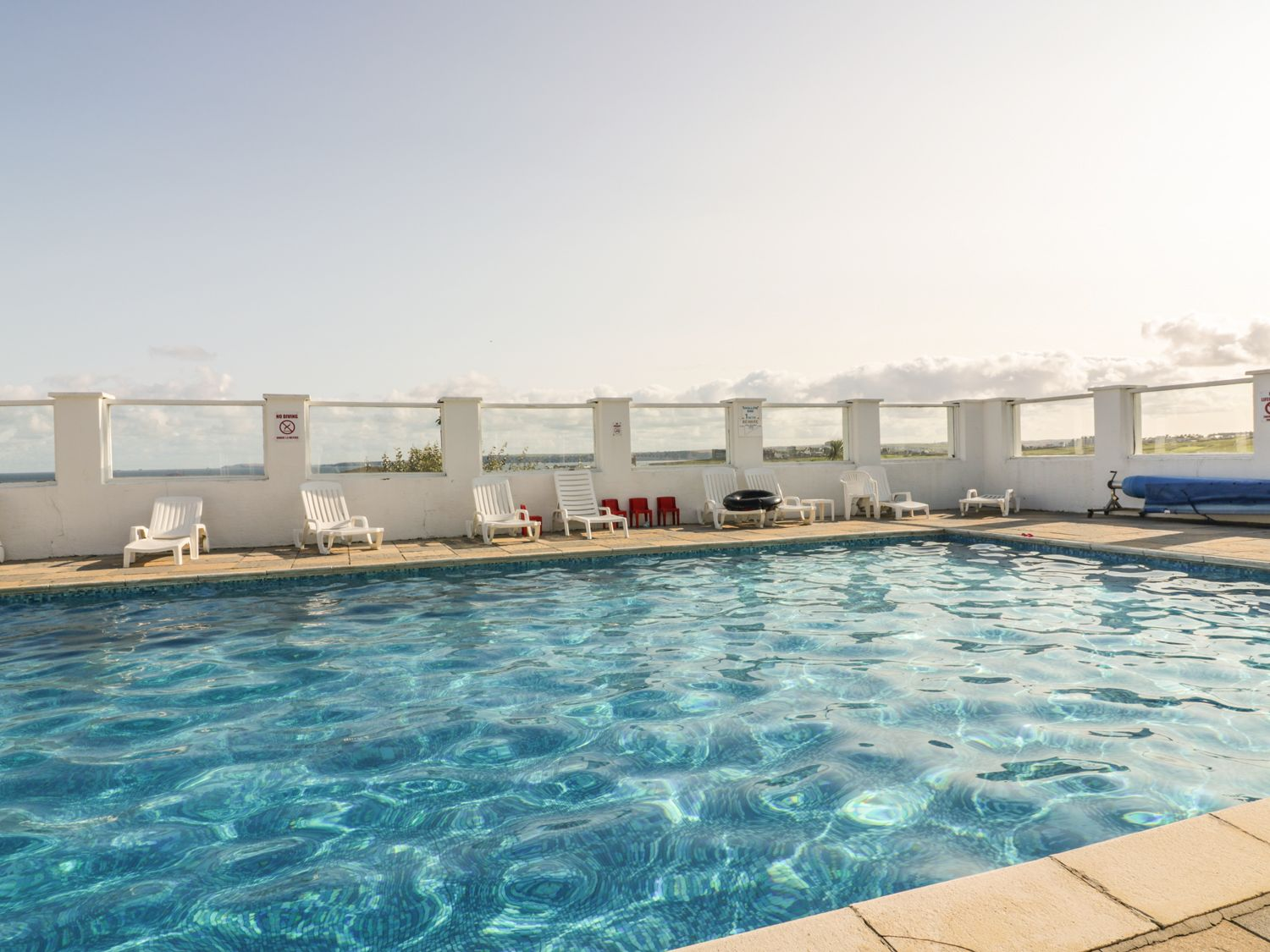 Swimming pools and hot tubs in your guest information folder