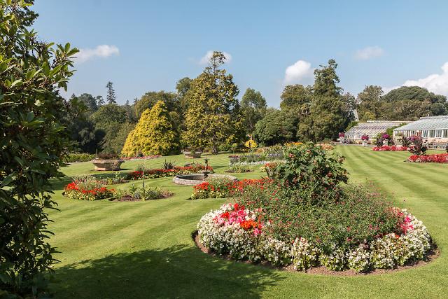 The Italian Garden at Bicton Park