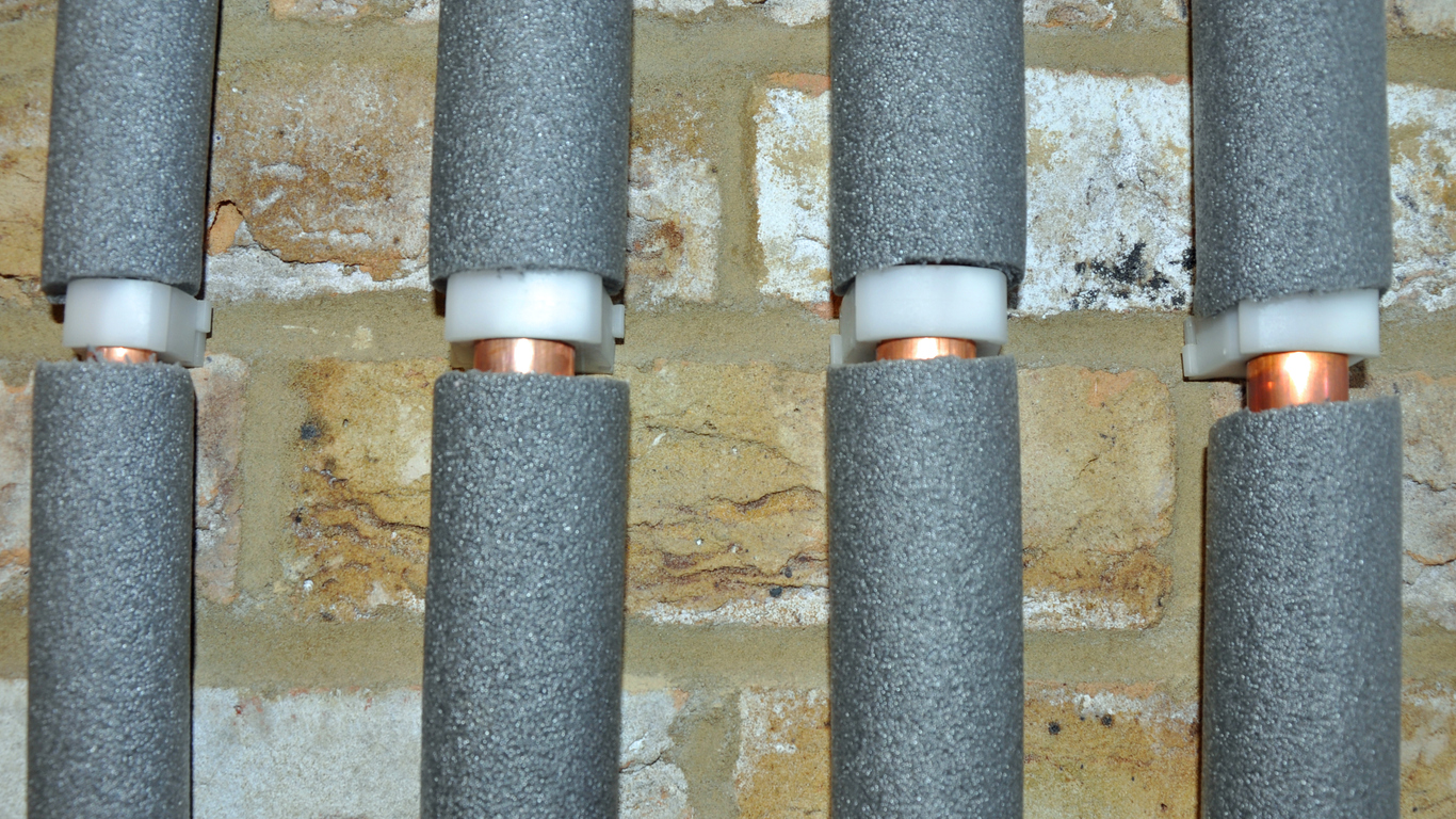 Lag your pipes to protect them during colder months
