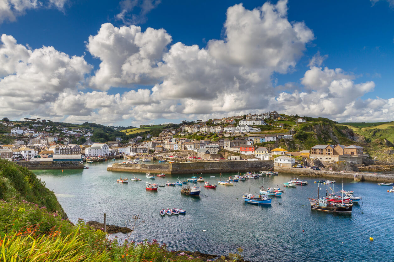 Mevagissey - one of the Top 5 Spring Walks in Cornwall