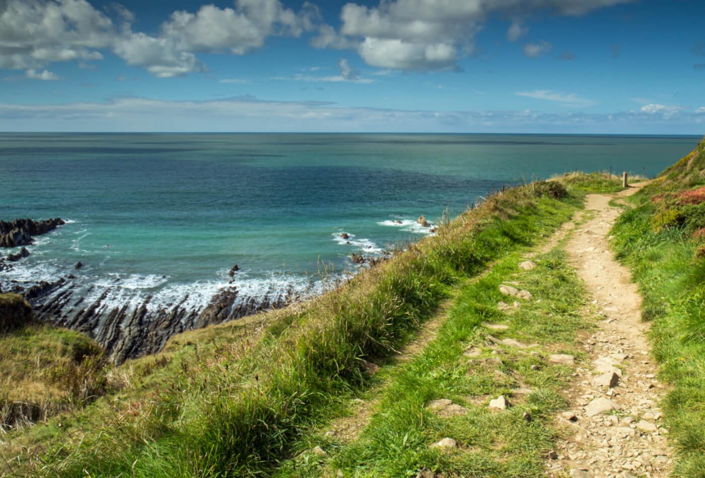 Hartland Quay Devon South West Coast Path Walks