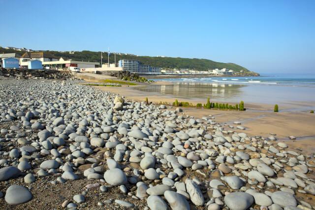 Westward Ho! pebbled beach
